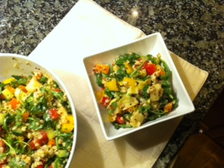 Pearled Barley Salad