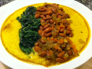 Grits Beans and Greens