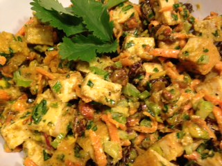 Curry Tofu Salad